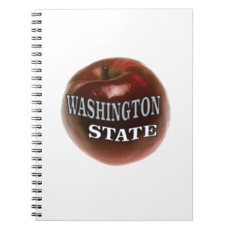 Washington state red apple notebooks