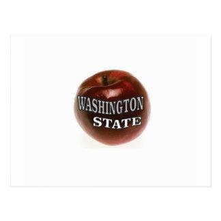 Washington state red apple postcard