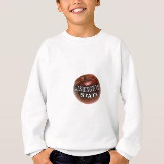 Washington state red apple sweatshirt