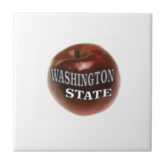 Washington state red apple tile