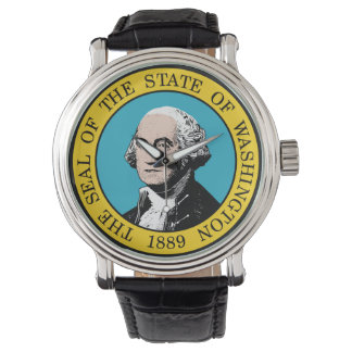 Washington state seal america republic symbol flag watch