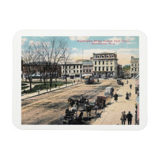 Washington Street, Morristown NJ, Vintage Magnet