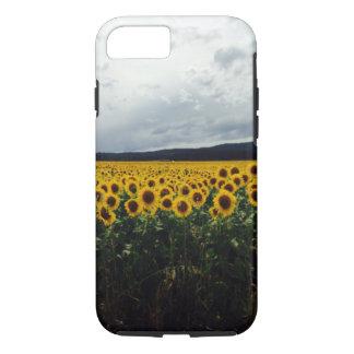 Washington Sunflower Field Iphone Case