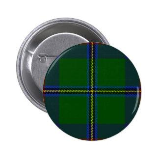 Washington-tartan 2 Inch Round Button