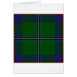 Washington-tartan Card
