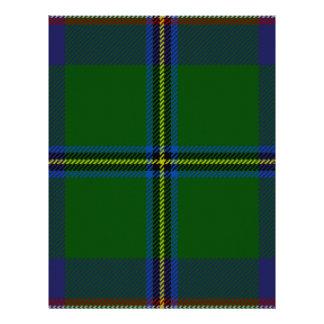 Washington-tartan Customized Letterhead