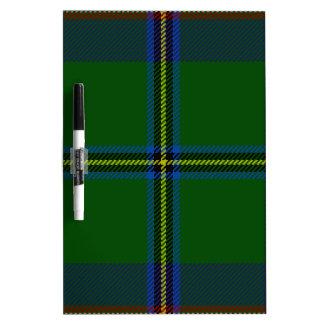 Washington-tartan Dry Erase Board
