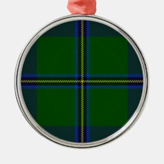 Washington-tartan Metal Ornament