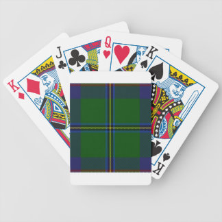 Washington-tartan Poker Deck