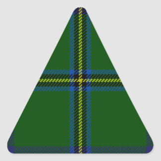 Washington-tartan Triangle Sticker