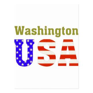 Washington USA! Postcard