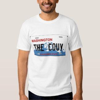 Washington Vancouver Couv license plate Tshirt