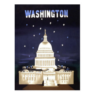 Washington Vintage Travel Postcard