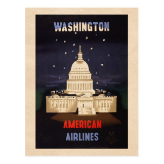 Washington - Vintage Travel postcard