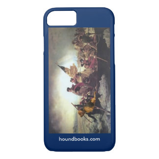Washington & Wimsey Bloodhound Crossing Delaware iPhone 7 Case