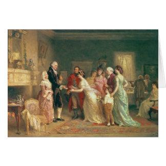 Washington's Birthday, 1798 Card