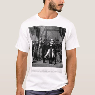 Washington's Farewell to His Officers_War Image T-Shirt