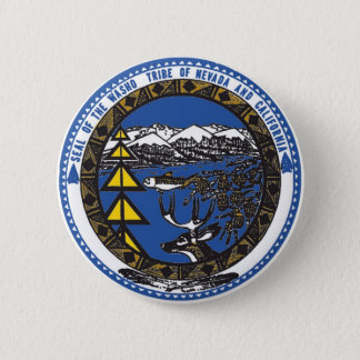 Washoe Tribe of Nevada & California 2 Inch Round Button