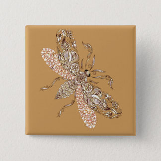 Wasp 2 Inch Square Button