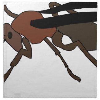 Wasp Drawing Napkin