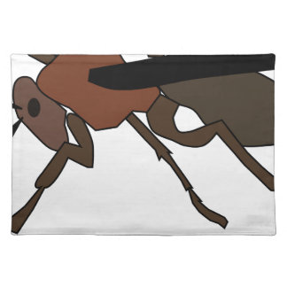 Wasp Drawing Placemat