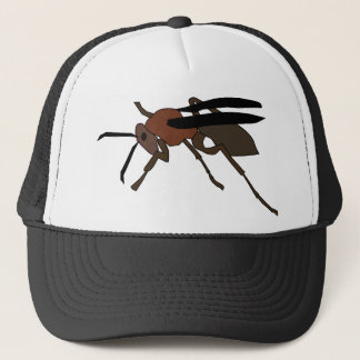 Wasp Drawing Trucker Hat