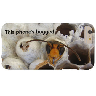 Wasp Emerging From Nest Bugged iPhone Case