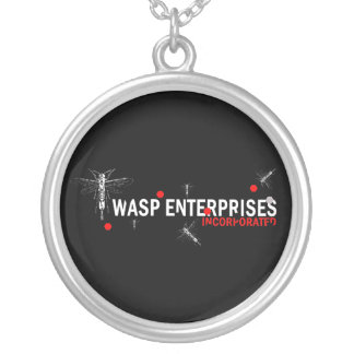 Wasp Enterprises Silver Plated Necklace