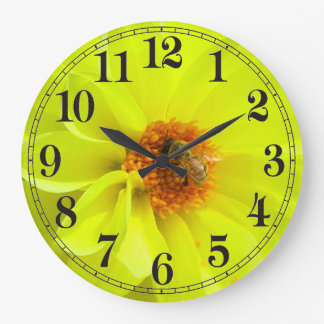 Wasp image for  Round Wall Clock