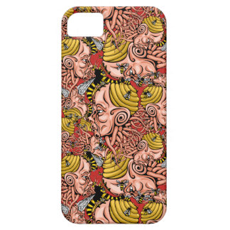 wasp nest - head shape design iPhone 5 cover
