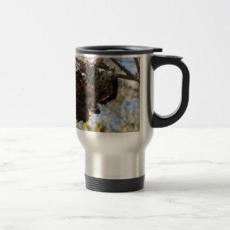 Wasp Nest! Yikes! 15 Oz Stainless Steel Travel Mug
