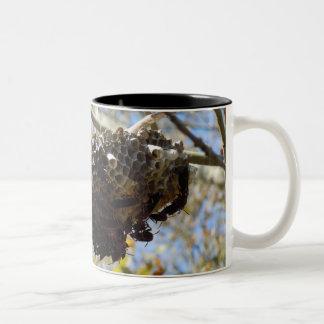 Wasp Nest! Yikes! Two-Tone Coffee Mug