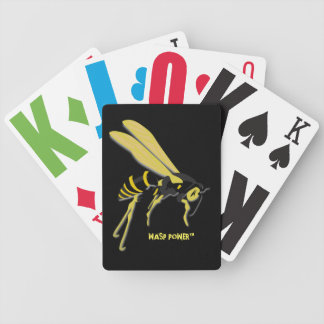 WASP POWER™ PLAYING CARDS