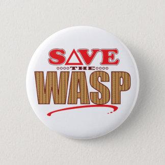 Wasp Save 2 Inch Round Button