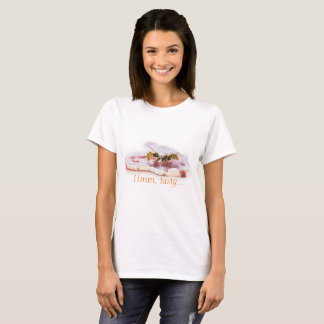 Wasps eating a sausage T-Shirt