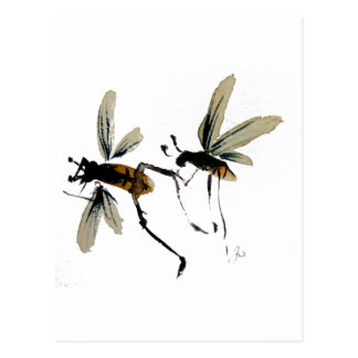 Wasps Postcard