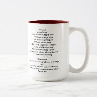 Wassail Recipe Mug