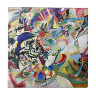 WASSILY KADINSKY - Composition VII 1913 Tile
