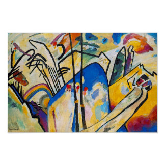 Wassily Kandinsky Composition Four - Abstract Art Poster
