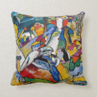 Wassily Kandinsky - Composition II Abstract Art Throw Pillow