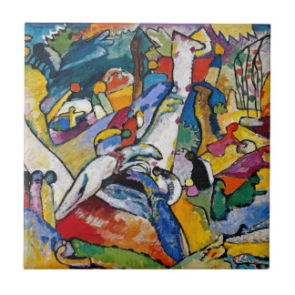 Wassily Kandinsky - Composition II Abstract Art Tile