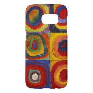 Wassily Kandinsky-Farbstudie Quadrate Samsung Galaxy S7 Case