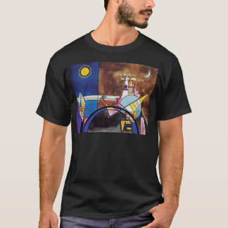 Wassily Kandinsky - Great Gate Of Kiev Abstract T-Shirt