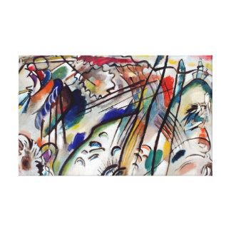 Wassily Kandinsky Improvisation 28 Canvas Print