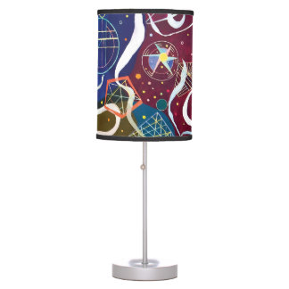 Wassily Kandinsky - Movement One Abstract Art Table Lamp