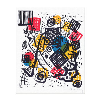 Wassily Kandinsky - Small Worlds V Abstract Art Canvas Print
