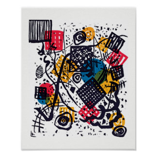 Wassily Kandinsky - Small Worlds V Abstract Art Poster