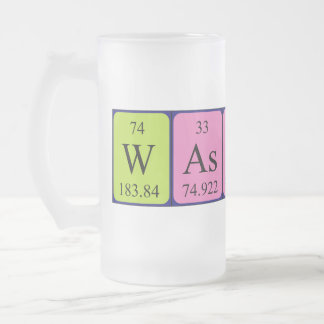 Wassup periodic table word frosty mug