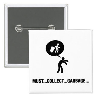 Waste Collector Buttons