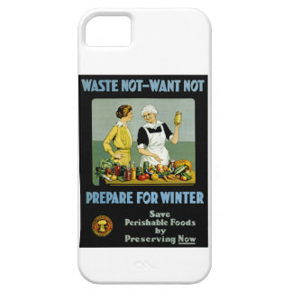 Waste Not - Want Not ~ Prepare for Winter iPhone 5 Covers